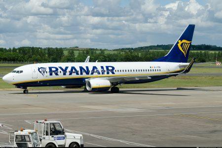 Ryanair закроет базу в аэропорту Глазго